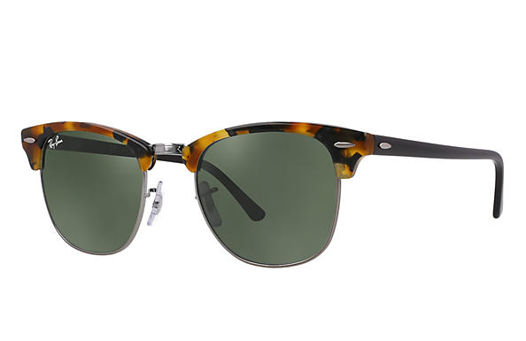 Ray-Ban 0RB3016-CLUBMASTER Tortoise; Black ROX_FRAME