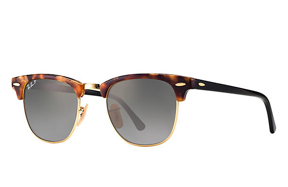 Ray-Ban 0RB3016-CLUBMASTER FLECK Tortoise; Black ROX_FRAME