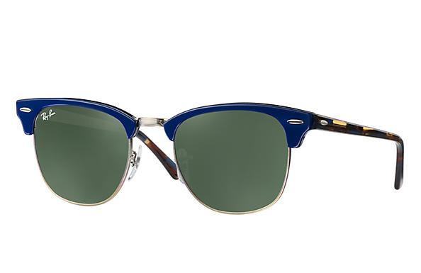 Ray-Ban 0RB3016-CLUBMASTER Blue ROX_FRAME
