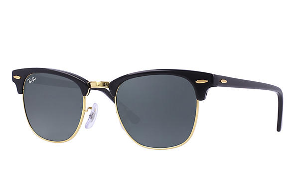 Ray-Ban  prescription sunglasses RB3016 UNISEX P018 clubmaster black RX_805289653653?roxLensPartNumber=Blue_Gray_Classic_SV
