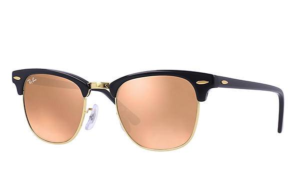 Ray-Ban  prescription sunglasses RB3016 UNISEX P018 clubmaster black RX_805289653653?roxLensPartNumber=Copper_Flash_SV