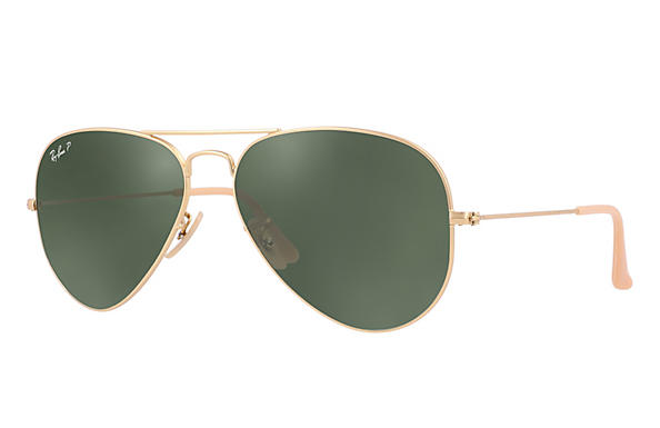 Ray-Ban AVIATOR GRADIENT Matte Gold