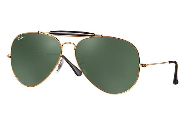 09fdaa1e2ad Ray-Ban Outdoorsman Ii RB3029 Bronze-Copper - Metal - Green ...