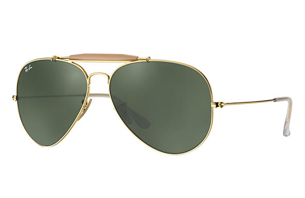 Ray-Ban 0RB3029-OUTDOORSMAN II Gold ROX_FRAME