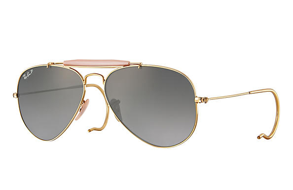 Ray-Ban 0RB3030-OUTDOORSMAN Gold ROX_FRAME