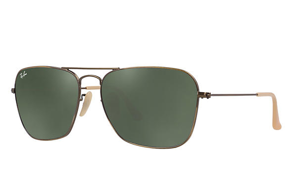 Ray-Ban 0RB3136-CARAVAN Bronze-Copper ROX_FRAME