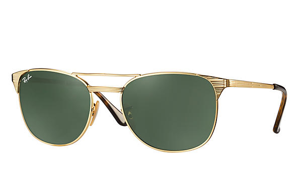 Ray-Ban 0RB3429M-SIGNET Gold ROX_FRAME