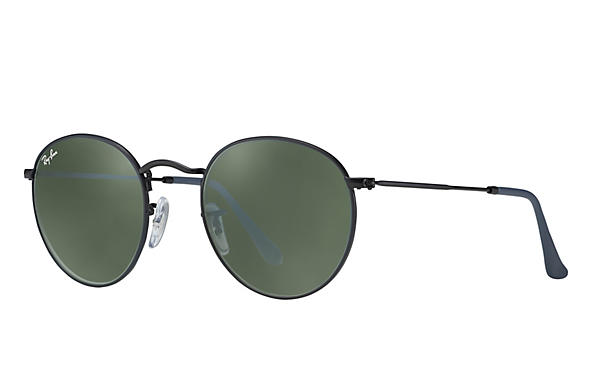 Ray-Ban 0RB3447-ROUND METAL Black ROX_FRAME