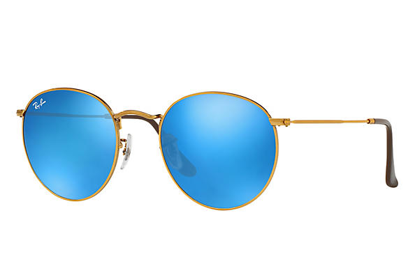 Ray-Ban 0RB3447-ROUND METAL Bronze-Kupfer ROX_FRAME