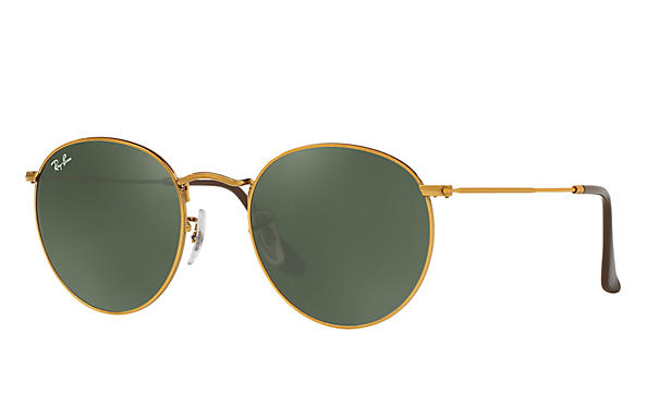 Ray-Ban 0RB3447-ROUND METAL Bronze-Copper ROX_FRAME