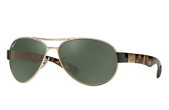 Ray-Ban RB3509 Gold