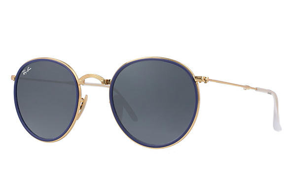 Ray-Ban 0RB3517-ROUND FOLDING Gold ROX_FRAME