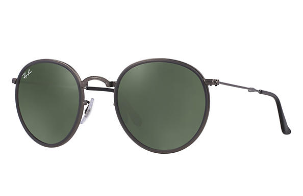 Ray-Ban 0RB3517-ROUND FOLDING Gunmetal ROX_FRAME