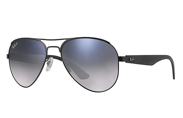 Ray-Ban  prescription sunglasses RB3523 MALE P006 rb3523 black RX_8053672351750?roxLensPartNumber=Blue_Grey_Gradient_Polar_SV