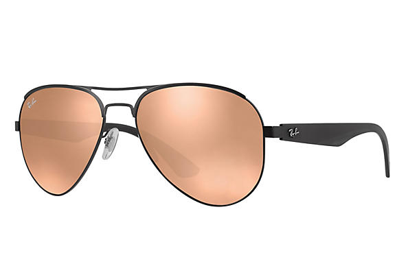 Ray-Ban  prescription sunglasses RB3523 MALE P006 rb3523 black RX_8053672351750?roxLensPartNumber=Copper_Flash_SV