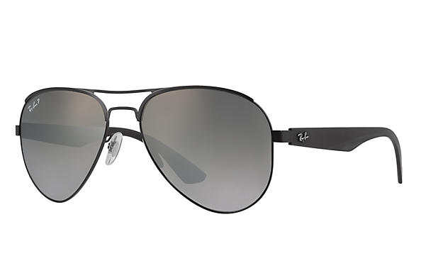 Ray-Ban  prescription sunglasses RB3523 MALE P006 rb3523 black RX_8053672351750?roxLensPartNumber=Grey_Gradient_Polar_SV