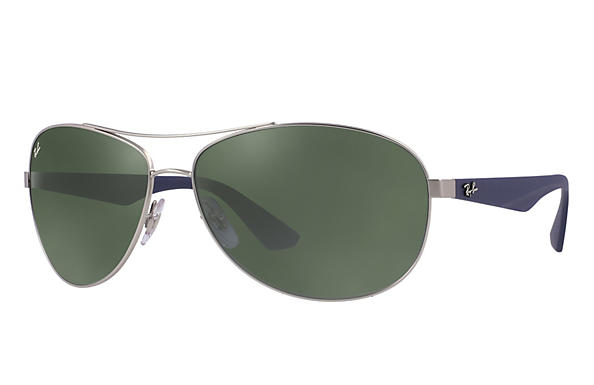 Ray-Ban 0RB3526-RB3526 Silver; Blue ROX_FRAME