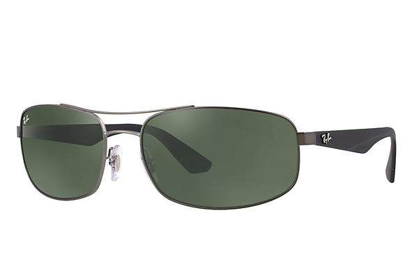 Ray-Ban 0RB3527-RB3527 Gunmetal; Black ROX_FRAME