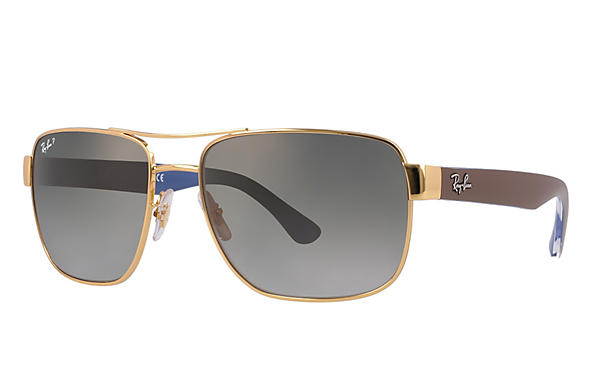 Ray-Ban 0RB3530-RB3530 Gold; Brown ROX_FRAME