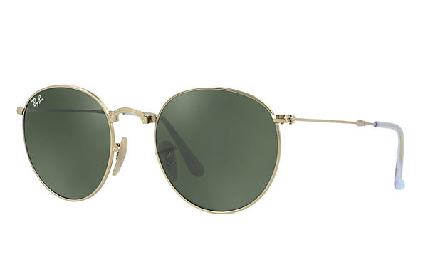 Ray-Ban 0RB3532-ROUND METAL FOLDING Gold ROX_FRAME