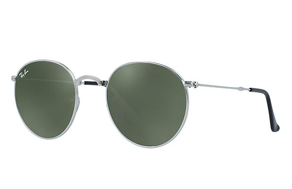 Ray-Ban 0RB3532-ROUND METAL FOLDING Silver ROX_FRAME