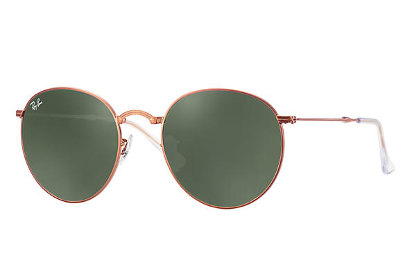 Ray-Ban 0RB3532-ROUND METAL FOLDING Bronze-Copper ROX_FRAME