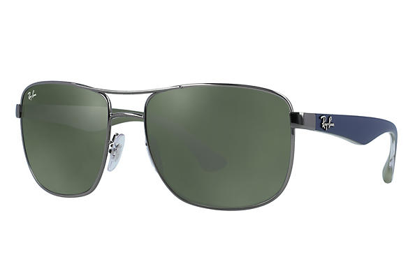 3c307e216b Ray-Ban 0RB3533-RB3533 Gunmetal  Blue