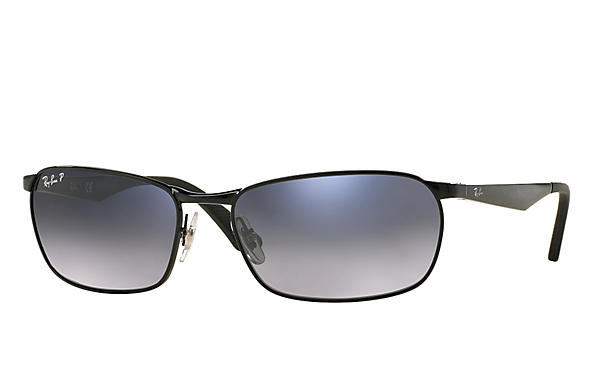 Ray-Ban  prescription sunglasses RB3534 MALE P001 rb3534 black RX_8053672497670?roxLensPartNumber=Blue_Grey_Gradient_Polar_SV