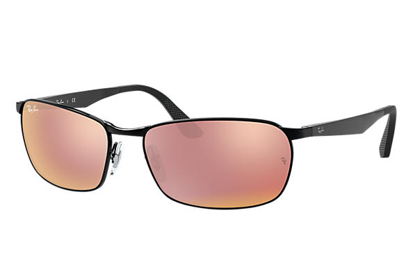Ray-Ban  prescription sunglasses RB3534 MALE P001 rb3534 black RX_8053672497670?roxLensPartNumber=Copper_Flash_SV