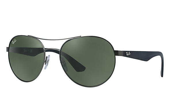 Ray-Ban 0RB3536-RB3536 Gunmetal; Black ROX_FRAME