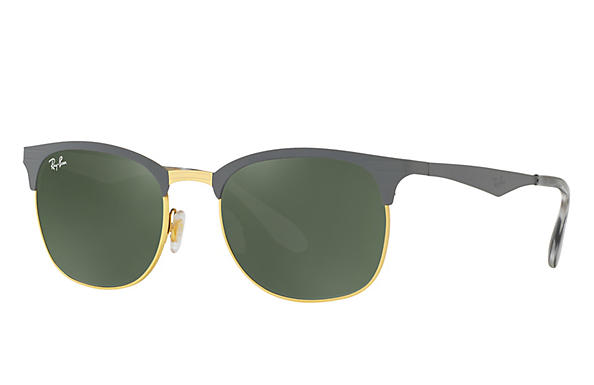 Ray-Ban 0RB3538-RB3538 Grey,Gold ROX_FRAME