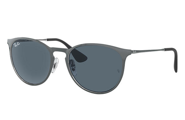 Ray-Ban  prescription sunglasses RB3539 UNISEX P007 erika metal grey RX_8053672565409?roxLensPartNumber=Blue_Gray_Classic_SV
