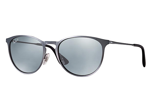 Ray-Ban  prescription sunglasses RB3539 UNISEX P007 erika metal grey RX_8053672565409?roxLensPartNumber=Silver_Flash_Polar_SV
