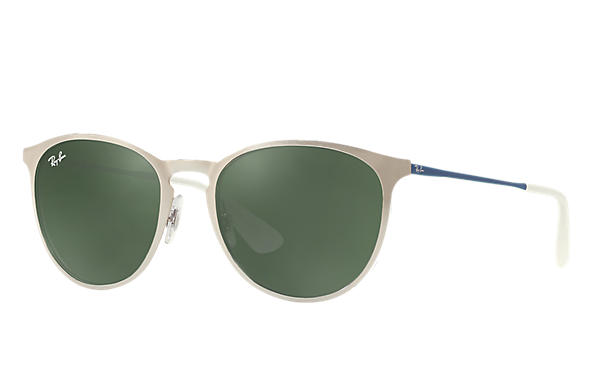 Ray-Ban 0RB3539-ERIKA METAL Silver; Blue,Silver ROX_FRAME