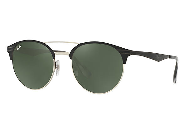 Ray-Ban 0RB3545-RB3545 Black,Silver ROX_FRAME