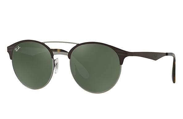 Ray-Ban 0RB3545-RB3545 Brown,Gunmetal ROX_FRAME