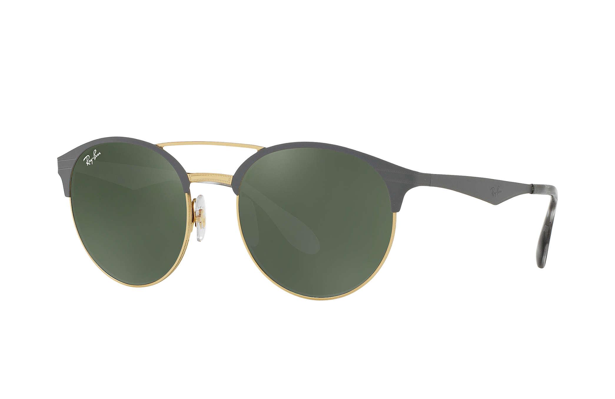 72c92af433b05 Ray-Ban RB3545 Gris - Metal - Lentes graduadas Green ...