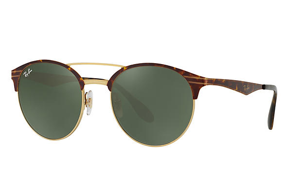 Ray-Ban 0RB3545-RB3545 Tortoise,Gold ROX_FRAME