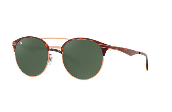 Ray-Ban 0RB3545-RB3545 Tortoise,Bronze-Copper ROX_FRAME