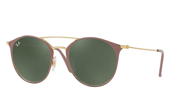 Ray-Ban 0RB3546-RB3546 Light Brown,Gold; Gold,Light Brown ROX_FRAME