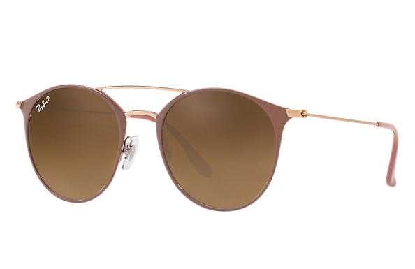 Ray-Ban  prescription sunglasses RB3546 MALE P001 rb3546 light brown RX_8053672836493?roxLensPartNumber=Brown_Gradient_Polar_SV
