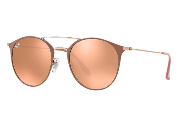 Ray-Ban  prescription sunglasses RB3546 MALE P001 rb3546 light brown RX_8053672836493?roxLensPartNumber=Copper_Flash_SV