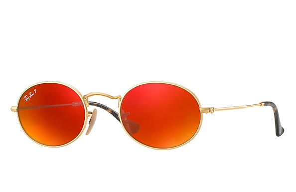 Ray-Ban  prescription sunglasses RB3547N MALE P009 oval flat lenses gold RX_8053672611519?roxLensPartNumber=Orange_Flash_Polar_SV