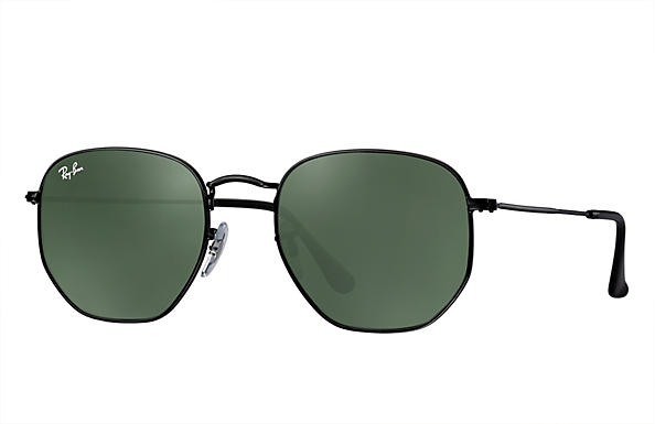 Ray-Ban 0RB3548N-HEXAGONAL Black ROX_FRAME