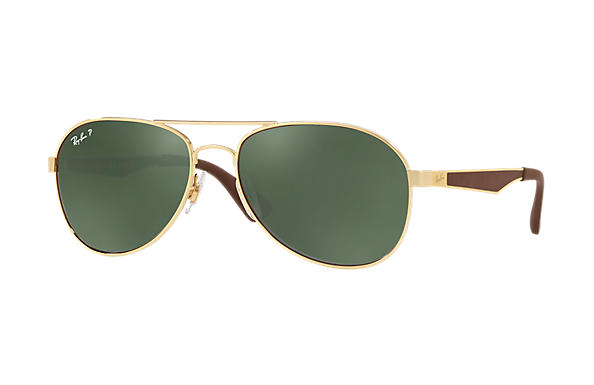 Ray-Ban RB3549 Gold