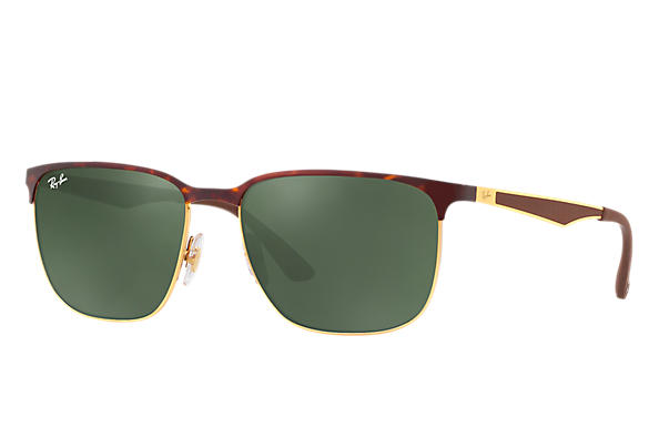 Ray-Ban 0RB3569-RB3569 Tortoise,Gold; Gold,Brown ROX_FRAME