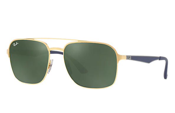 Ray-Ban 0RB3570-RB3570 Gold; Blue ROX_FRAME