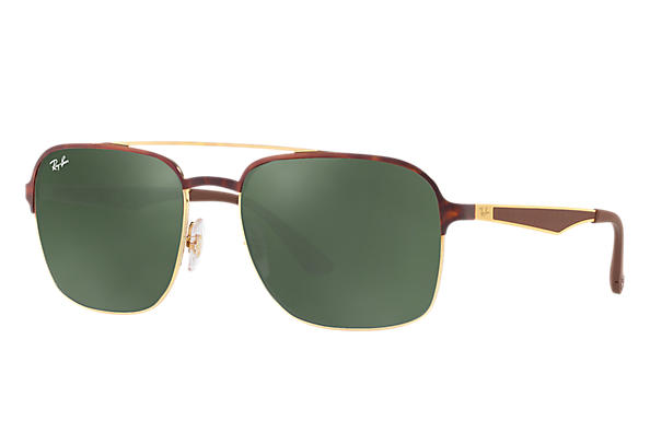 Ray-Ban 0RB3570-RB3570 Tortoise,Gold; Brown ROX_FRAME