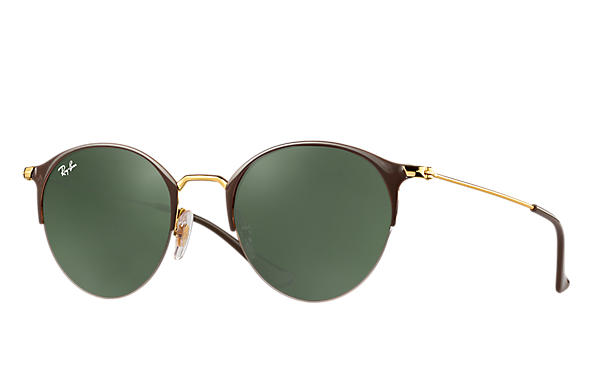 Ray-Ban 0RB3578-RB3578 Brown,Gold; Gold ROX_FRAME