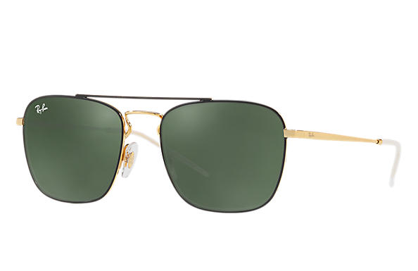 Ray-Ban 0RB3588-RB3588 Black,Gold; Gold ROX_FRAME